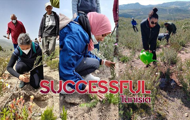 LES ASSOCIATIONS SOLI & GREEN ET TOUNES CLEAN-UP PLANTENT 60 000 ARBRES EN 2 SEMAINES (PHOTOS)