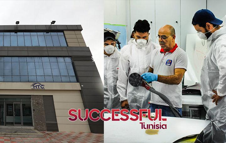 La société tunisienne CAP inaugure le premier centre de formation en Afrique dans le domaine de la peinture