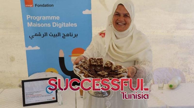 بمناسبة عيد المراة.. شركة اورونج تونس تمنح جائزة لصاحبة مشروع صغير لصنع الحلويات في منطقة بني خلاد (صور)