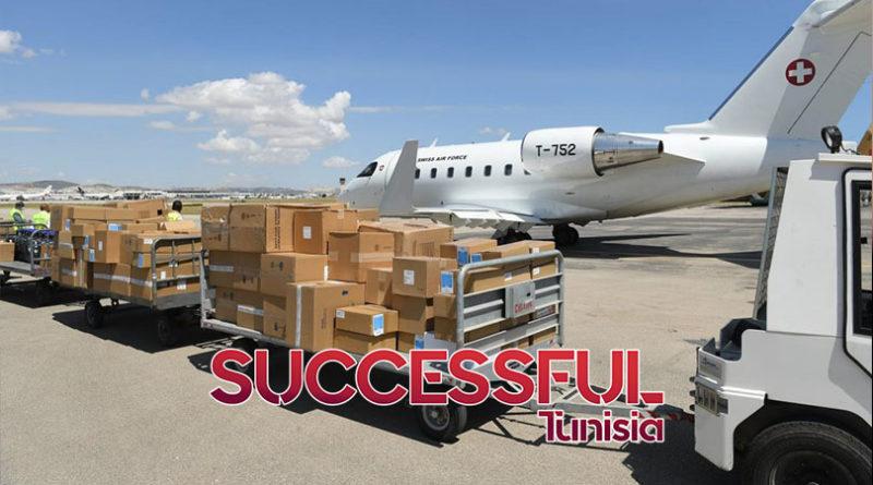 عدد من ابناء الجالية والاطباء التونسيين العاملين في سويسرا يرسلون دفعة جديدة من المساعدات الطبية الى تونس