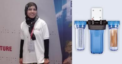 لطيفة مرجان باحثة دكتوراه شابة  تبتكر طريقة لتصنيع مواد البناء وتنقية المياه الملوثة من خلال الألياف الطبيعية